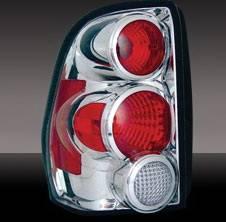 Pilot - Chevrolet Trail Blazer Pilot Chrome Taillight - Pair - TL-610