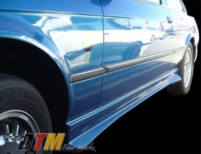 DTM Fiberwerkz - BMW 3 Series DTM Fiberwerkz Hartge Style Side Skirts - E30 Hartge S