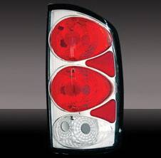 Pilot - Dodge Ram Pilot Chrome Taillight - Pair - TL-805