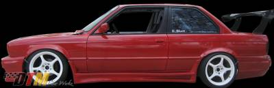 DTM Fiberwerkz - BMW 3 Series DTM Fiberwerkz RG GTS Style Side Skirts - E30 RG GTS S