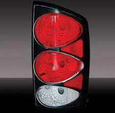Pilot - Dodge Ram Pilot Black Taillight - Pair - TL-805BK