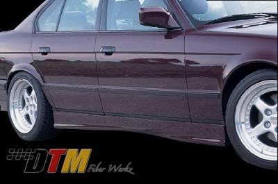 DTM Fiberwerkz - BMW 5 Series DTM Fiberwerkz M3 E36 Style Side Skirts - e34 m3 sides
