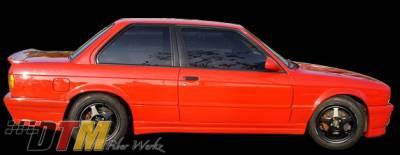 DTM Fiberwerkz - BMW 3 Series DTM Fiberwerkz BRYTN Style Side Skirts - E30 BRYTN St