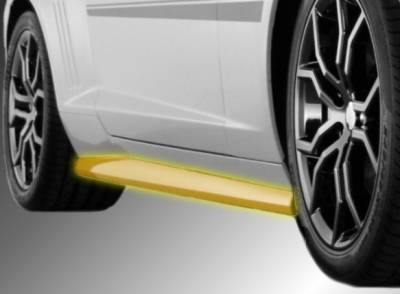 Innovatative Vehicle Solutions - Chevrolet Camaro IVS Havoc Rocker Molding Side Skirts - 9006-1008-01
