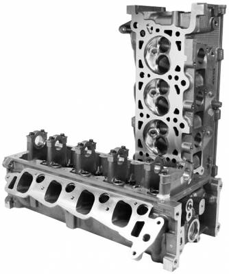 PatriotPerformance - Ford Mustang Patriot Performance Stage III Cylinder Heads - 68001