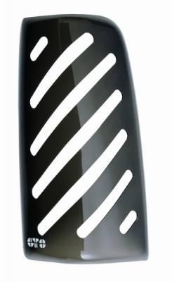 GT Styling - Dodge Ram GT Styling Tail Blazer Taillight Cover - Smoke - 2PC - 120882