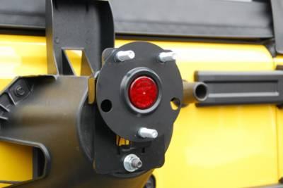 Hyline Offroad - Jeep Wrangler Hyline Oversized Spare Tire Adapter Bracket - JK-20OTM