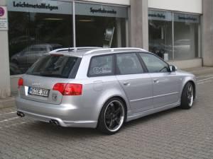 Oettinger - B7 Boot/Deck Lid Spoiler - w/ brake light