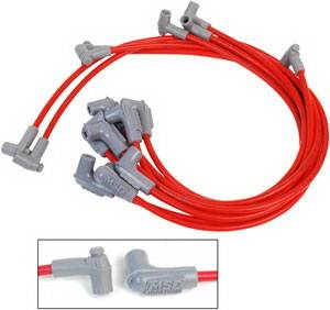 MSD - Chevrolet Corvette MSD Ignition Wire Set - Super Conductor - HEI - 31769
