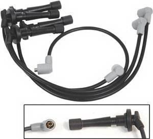 MSD - Acura Integra MSD Ignition Wire Set - Black Super Conductor - 32323
