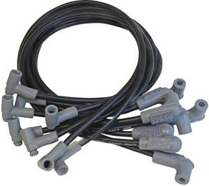 MSD - Chevrolet MSD Ignition Wire Set - Black Super Conductor - HEI - 35653