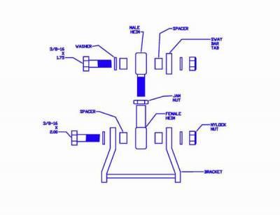 Progress - Anti-Roll Bar Adapter Kit - 65.1006