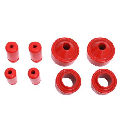 Omix - Omix Prothane Coil Spring Insulator Kit - 2 inch Lift - 1-1708