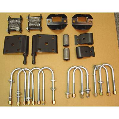 Omix - Omix Leaf Spring Mount Kit - Including 8 U-Bolts - Rear - 18271-11