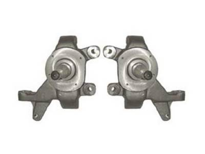 Hot Rod Deluxe - Nissan Frontier Hot Rod Deluxe Drop Spindles - 2 Inch - HRD-S-118