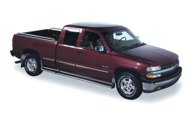 Putco - Chevrolet Silverado Putco Traditional Running Boards - 11105