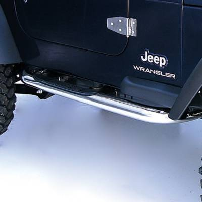 Outland - Jeep Wrangler Outland Nerf Step Bar - 11593.04