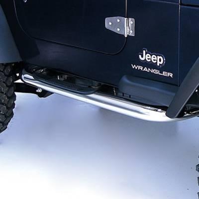 Outland - Jeep Wrangler Outland Nerf Step Bar - 11593.04