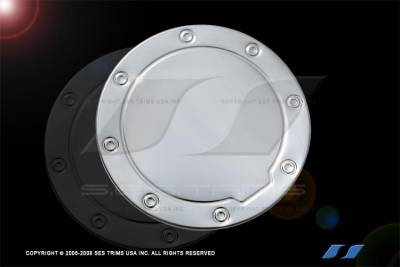 SES Trim - Chevrolet Suburban SES Trim Stainless Gas Cover - GC108SS