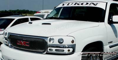 Sarona - GMC Yukon Sarona Hood Scoop - GM-004-HS