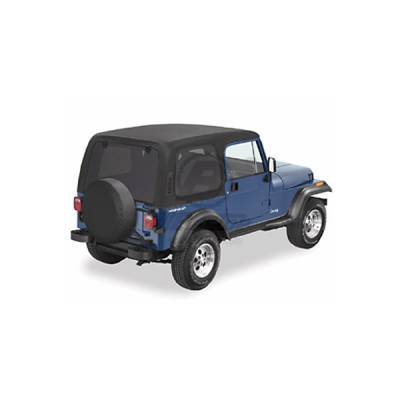 Omix - Omix One Piece Hard Top without Upper Doors - 41497