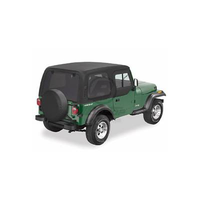 Omix - Omix One Piece Hard Top with Upper Doors - 41498