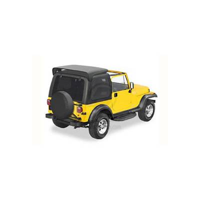 Omix - Omix Two Piece Hard Top without Doors - 41499