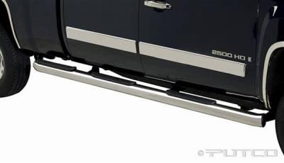 Putco - Chevrolet Silverado Putco Boss Bar Side Steps - Wheel to Wheel - 44190