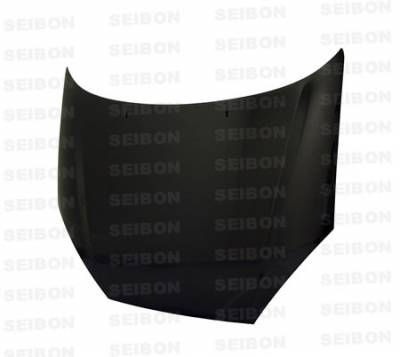 Seibon - Ford Focus Seibon OEM Style Carbon Fiber Hood - HD0004FDFO-OE