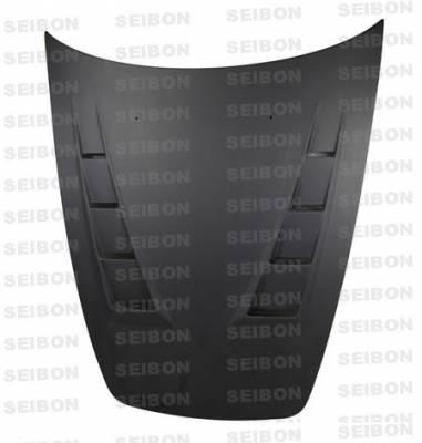 Seibon - Honda S2000 Seibon MG Style Dry Carbon Fiber Hood - HD0005HDS2K-MG-DRY