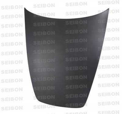 Seibon - Honda S2000 Seibon OEM Style Dry Carbon Fiber Hood - HD0005HDS2K-OE-DRY