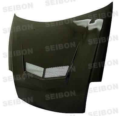 Seibon - Mitsubishi Eclipse Seibon VSII Style Carbon Fiber Hood - HD0005MITEC-VSII