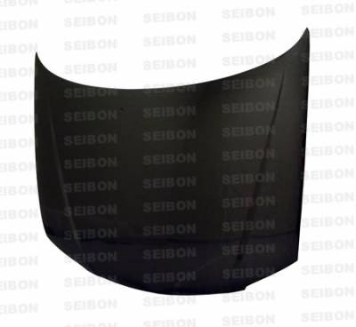 Seibon - Mazda Protege Seibon OEM Style Carbon Fiber Hood - HD0103MZPRO-OE