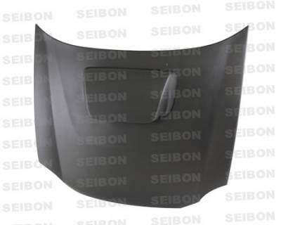 Seibon - Subaru Impreza Seibon OEM Style Dry Carbon Fiber Hood - HD0203SBIMP-OE-DRY