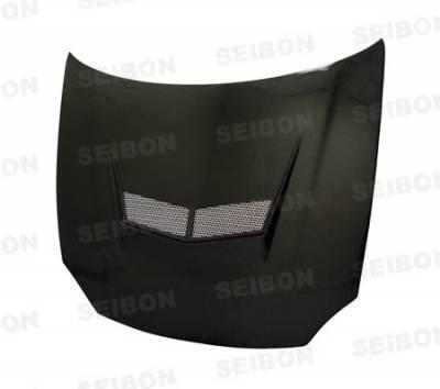 Seibon - Honda Civic Seibon XT Style Carbon Fiber Hood - HD0204HDCVSI-XT