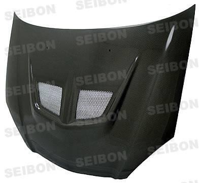 Seibon - Acura RSX Seibon EVO Style Carbon Fiber Hood - HD0205ACRSX-EVO