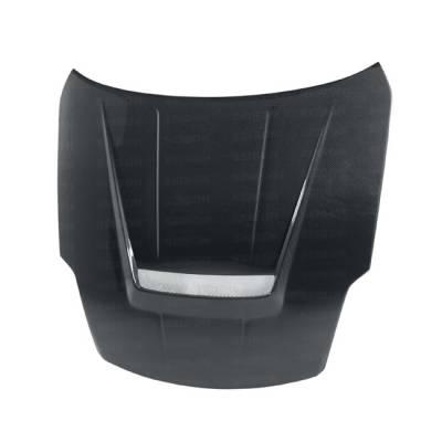 Seibon - Nissan 370Z Seibon VSII Style Carbon Fiber Hood - HD0205NS350-VSII