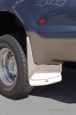 Putco - Ford F350 Superduty Putco Form Fitted Mud Skins - Rear - 79551