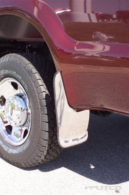 Putco - Ford F250 Superduty Putco Form Fitted Mud Skins - Front - 79605
