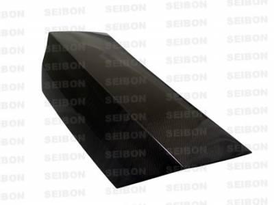 Seibon - Mitsubishi Evolution 8 Seibon TSII Style Carbon Fiber Hood - HD0305MITEVO8-TSII