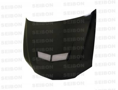 Seibon - Mitsubishi Evolution 8 Seibon VSII Style Carbon Fiber Hood - HD0305MITEVO8-VSII