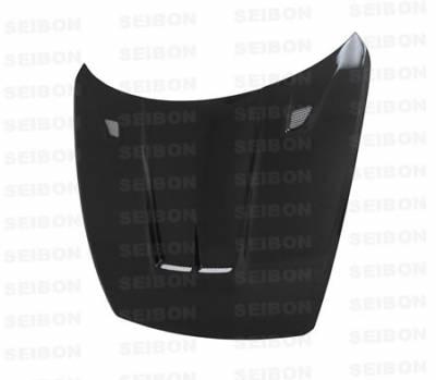 Seibon - Mazda RX-8 Seibon TT Style Carbon Fiber Hood - HD0405MZRX8-TT