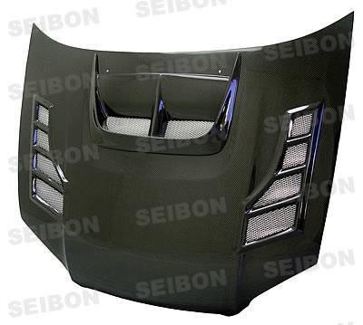 Seibon - Subaru Impreza Seibon CW Style Carbon Fiber Hood - HD0405SBIMP-CW