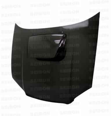 Seibon - Subaru Impreza Seibon OEM Style Carbon Fiber Hood - HD0405SBIMP-OE