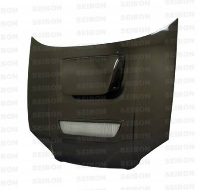 Seibon - Subaru Impreza Seibon RC Style Carbon Fiber Hood - HD0405SBIMP-RC