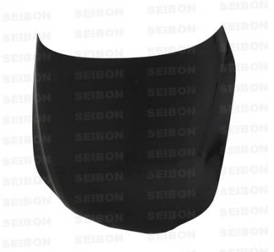 Seibon - BMW 5 Series Seibon OEM Style Carbon Fiber Hood - HD0407BMWE60-OE