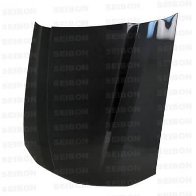 Seibon - Ford Mustang Seibon CL Style Carbon Fiber Hood - HD0506FDMU-CL