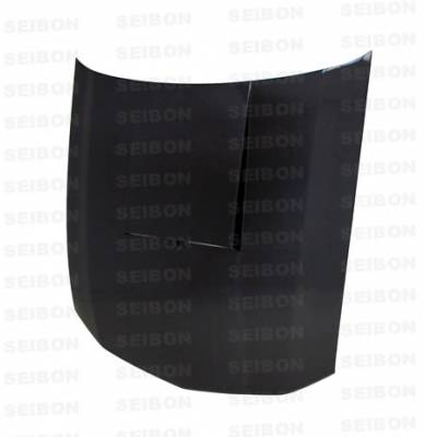 Seibon - Ford Mustang Seibon SC Style Carbon Fiber Hood - HD0506FDMU-SC