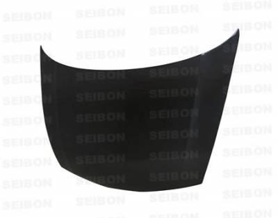 Seibon - Honda Civic 4DR Seibon OEM Style Carbon Fiber Hood - HD0607HDCV4DJ-OE