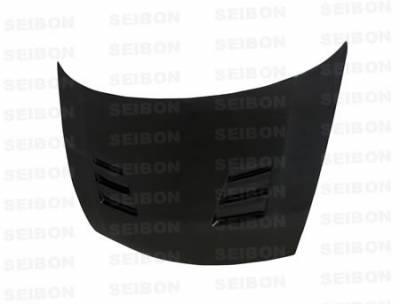 Seibon - Honda Civic 4DR Seibon TS Style Carbon Fiber Hood - HD0607HDCV4DJ-TS